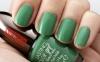 yeşil oje