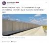 suriyeliler geri gitmesin diye sınıra duvar yapmak