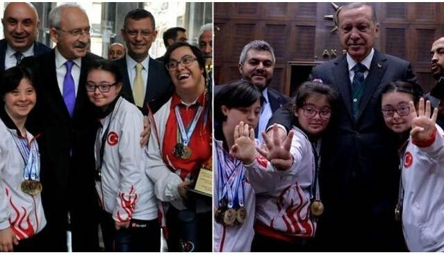 kılıçdaroğlu ve tayyip erdoğan arasındaki fark