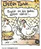 uzaya tavuk göndermek