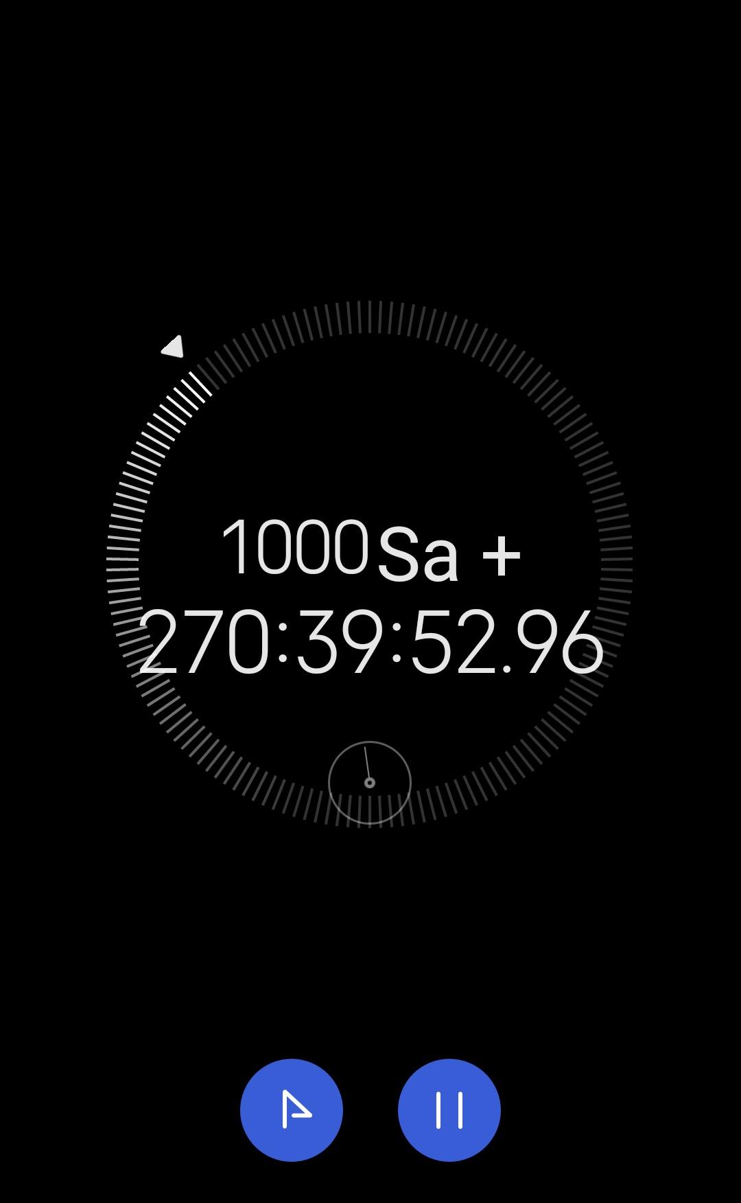 kronometreyi açık unutmak