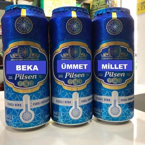 millet bahçesi için üretilen bira