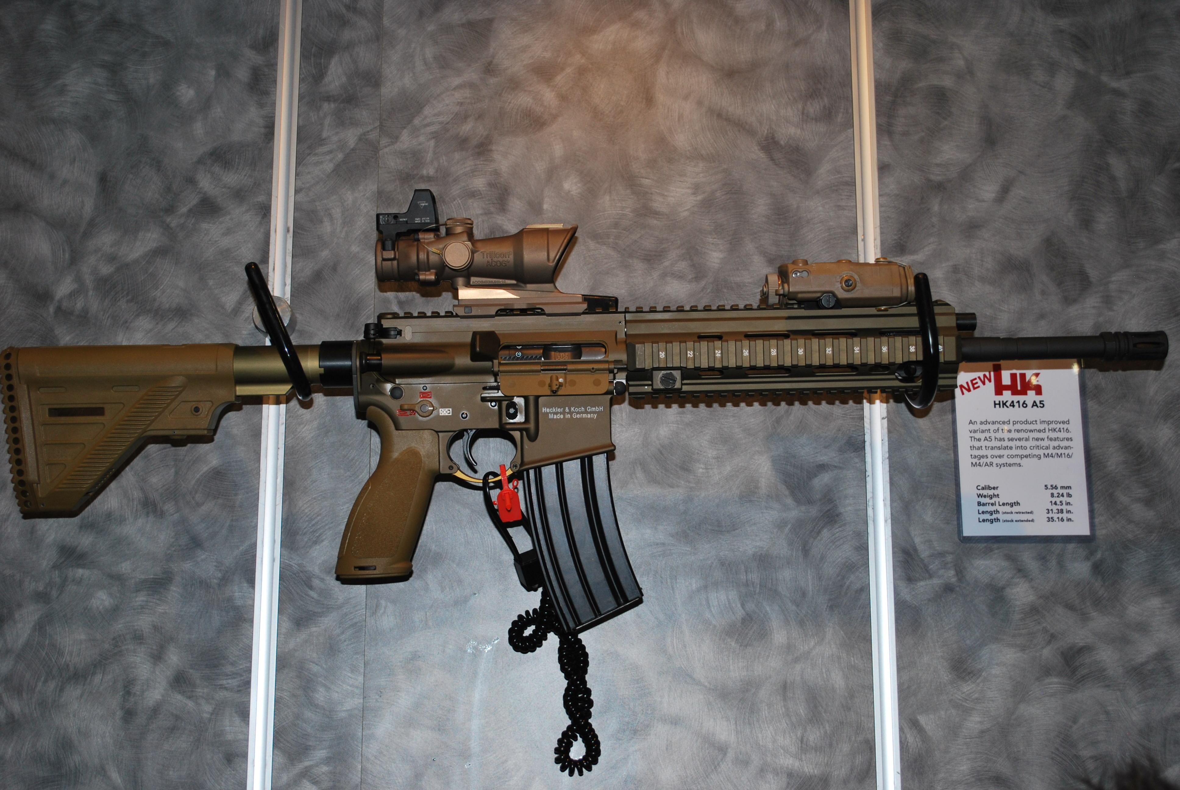 оружие Heckler Koch HK416 винтовка загрузить