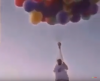uçan balonla doğum günü kutlamak