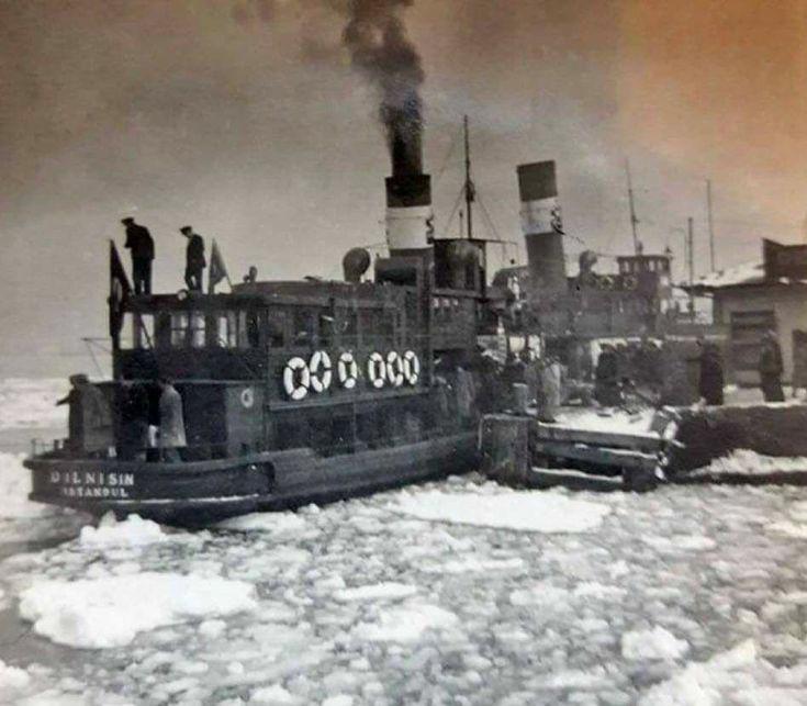 1954 te boğaz ın donması