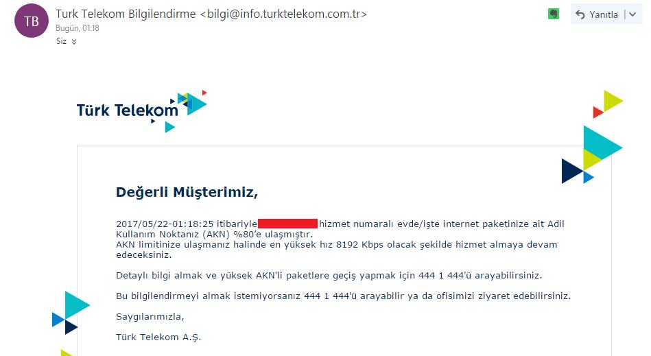 türk telekom müşteri hizmetleri numarası 2019