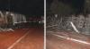 yola dökülen salçalar nedeniyle 18 araç kaza yaptı