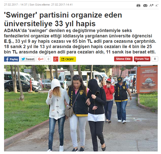 swinger partisi