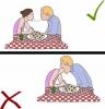 sevgiliyle spagetti makarnayı iki ucundan ısırmak