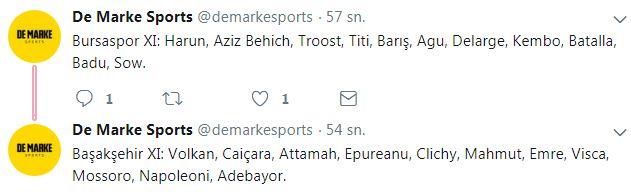 21 ocak 2018 bursaspor medipol başakşehir maçı