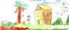 ilkokulda çizdiğimiz ev resmi