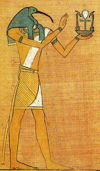 tanrıların katibi vicdan ve sezginin kelamı thoth