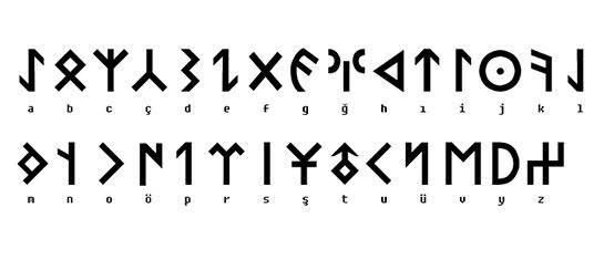 türk alfabesi