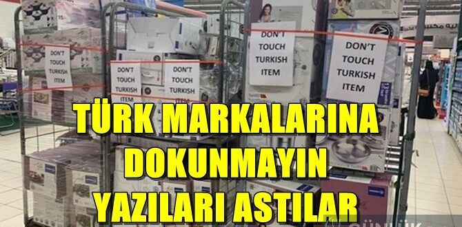 don t touch turkish item