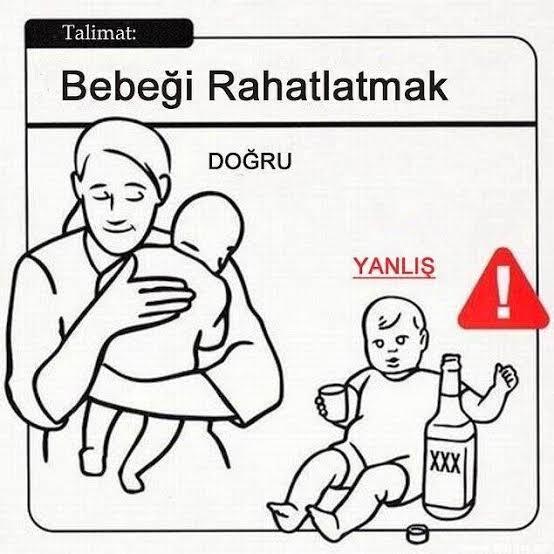 bebeğin manasız ağlaması