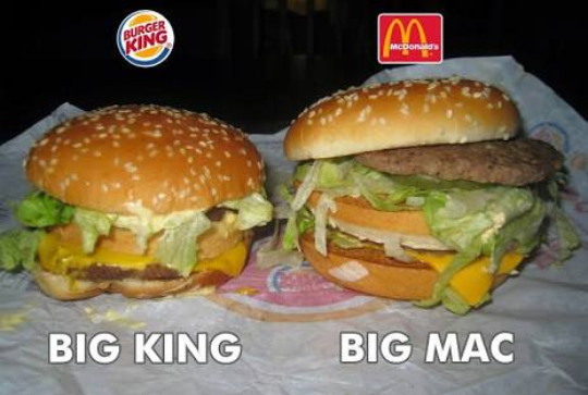 burger king vs mcdonald s resim 2