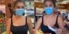 maske takmak yerine yüzü maske şeklinde boyamak