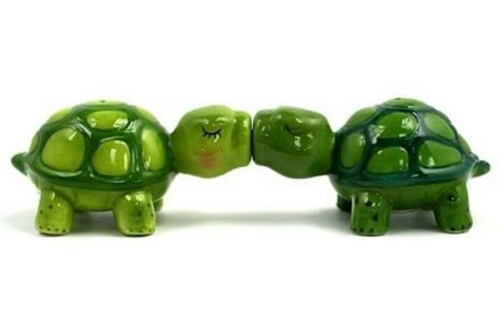 sokakta öpüşen kaplumbağaları değnekle kovalamak