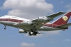 devlet başkanından satılık uçak