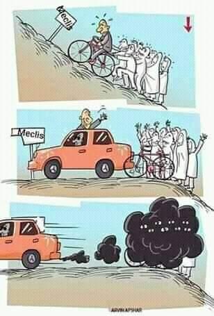 tek görselle siyaset