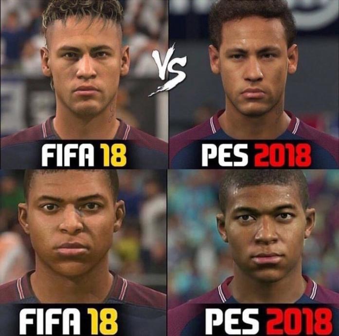 Pes 18 Vs Fifa 18