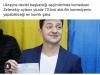ukrayna da seçimleri kazanan komedyen zelenskiy