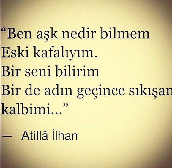 En Güzel Atilla Ilhan şiiri Uludağ Sözlük