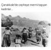 çanakkale de cepheye mermi taşıyan anneler