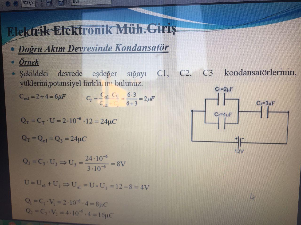 Çukurova Üniversitesi Makine Mühendisliği ve Elektrik-Elektronik Mühendisliği