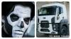 papa emeritus iii ford cargo truck benzerliği