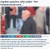 taksim meydanında erkeklere yavşayan yaşlı adam