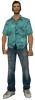 çiçekli gömlek giyen erkek